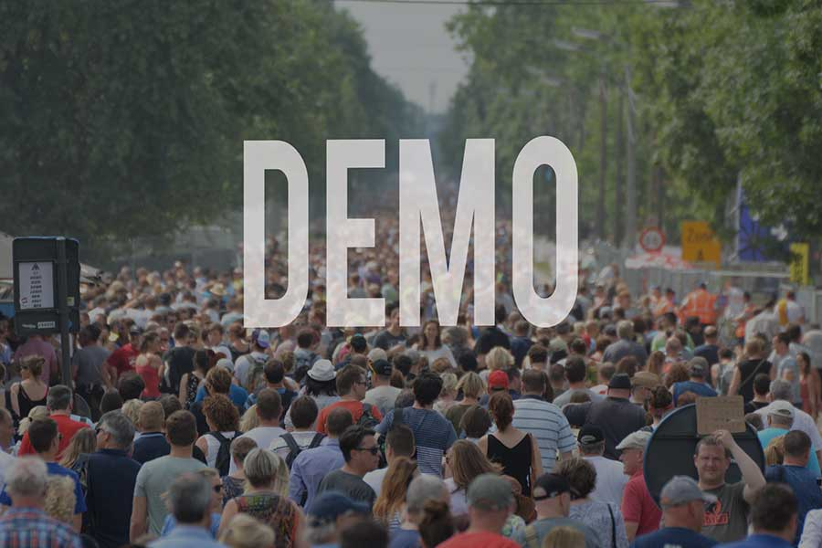 demo - Heute Demo in der Bonner City
