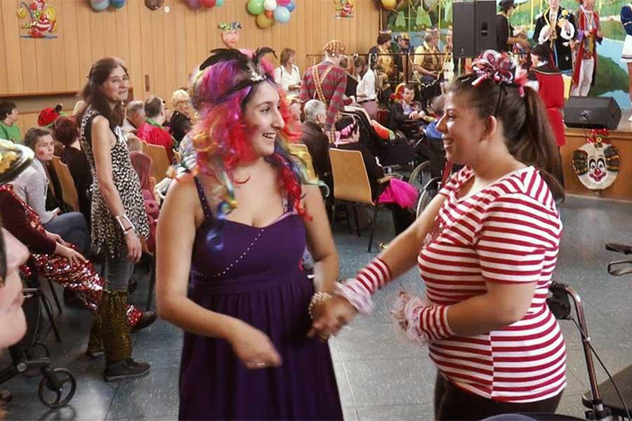 hohenhonnef - Haus Hohenhonnef feierte Karneval
