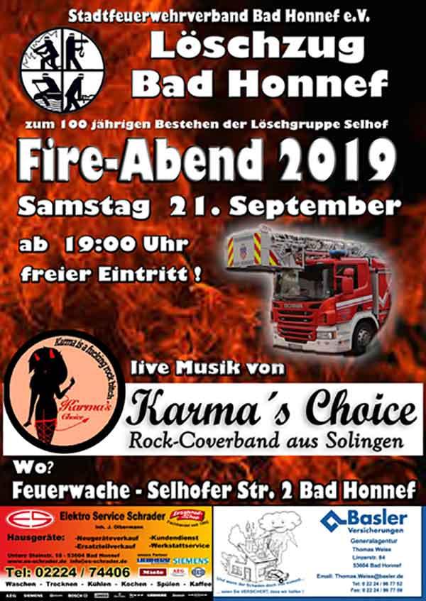 fireabend - Fire-Abend mit Frontsängerin aus Bad Honnef