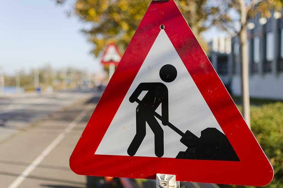 bauarbeiten - Bungertstraße: Kanal- und Straßenausbau beginnen Montag