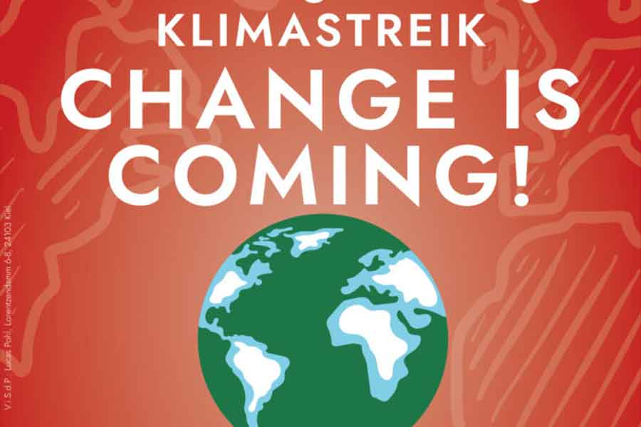 klima - Fridays for Future-Demo in Bonn