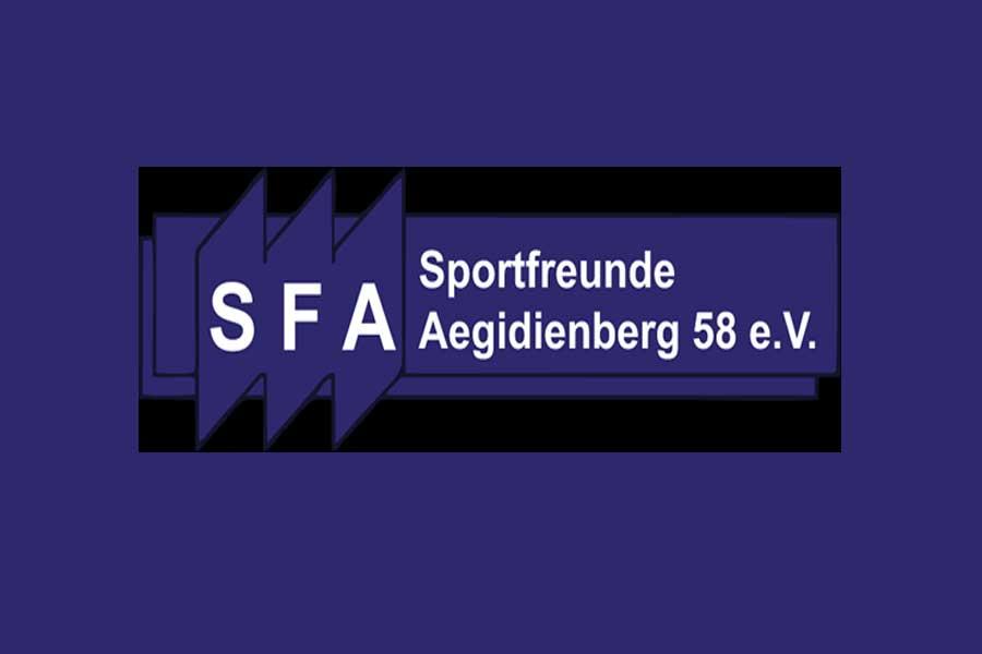 logo sfa - Sportfreunde Aegidienberg: Jetzt gehts auch in der Halle los