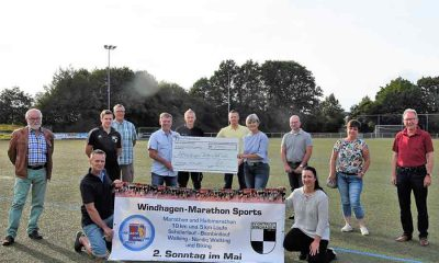 windhagen marathon 2020 spende 400x240 - Windhagen-Marathon: 2.500 EUR-Spende für Kinder in Not